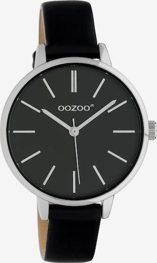 OOZOO Analoguhr 'JR315' in schwarz / silber, Produktansicht