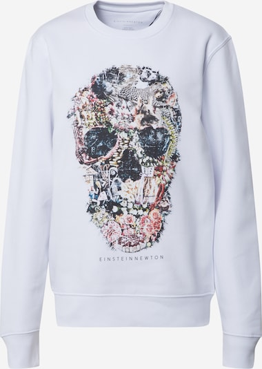 EINSTEIN & NEWTON Sweatshirt 'Crazy Skull Sweatshirt Klara Geist' in Mixed colours / White, Item view