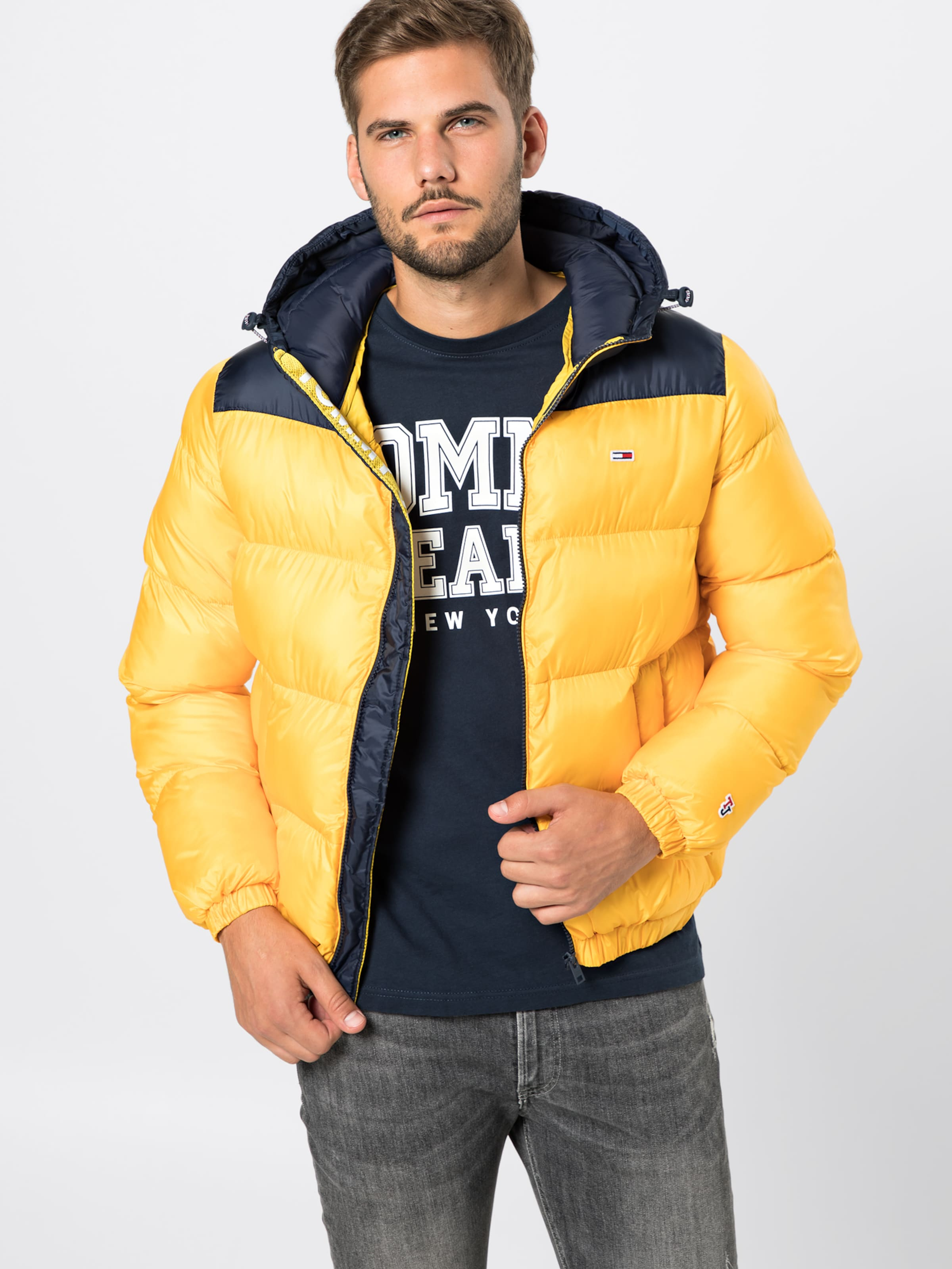 NavyGelb Jeans Steppjacke Classics Tommy Jacket' Puffa 'tjm In WED9IY2H