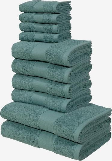 MY HOME Handtuch Set in grün, Produktansicht