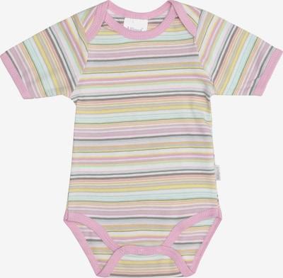 LILIPUT Kurzarm-Body in gelb / pastellgrün / rosa, Produktansicht