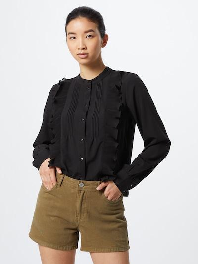 VERO MODA Blouse 'VMKADIA' in de kleur Zwart, Modelweergave