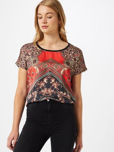 Key Largo T-Shirt 'VEGAS' in mischfarben: Frontalansicht