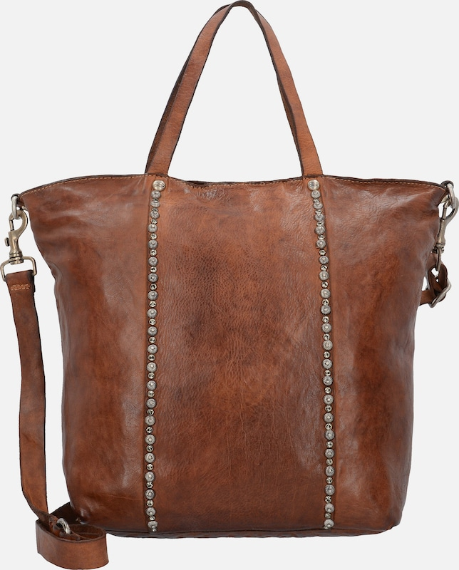 Campomaggi 'Damiana' Shopper Tasche Leder 31 cm