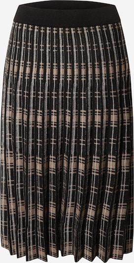 Freequent Suknja 'Cloe' u bež / crna / bijela, Pregled proizvoda