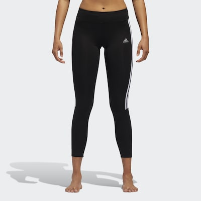 ADIDAS PERFORMANCE Tight in schwarz / weiß: Frontalansicht