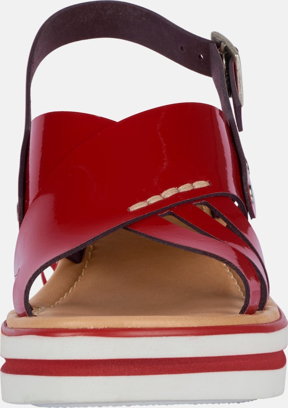 Haltbare Mode billige Schuhe heine | Sandalette mit Plateau-Sohle Schuhe Gut getragene Schuhe
