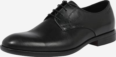 VAGABOND SHOEMAKERS Šněrovací boty 'Harvey' - černá: Pohled zepředu