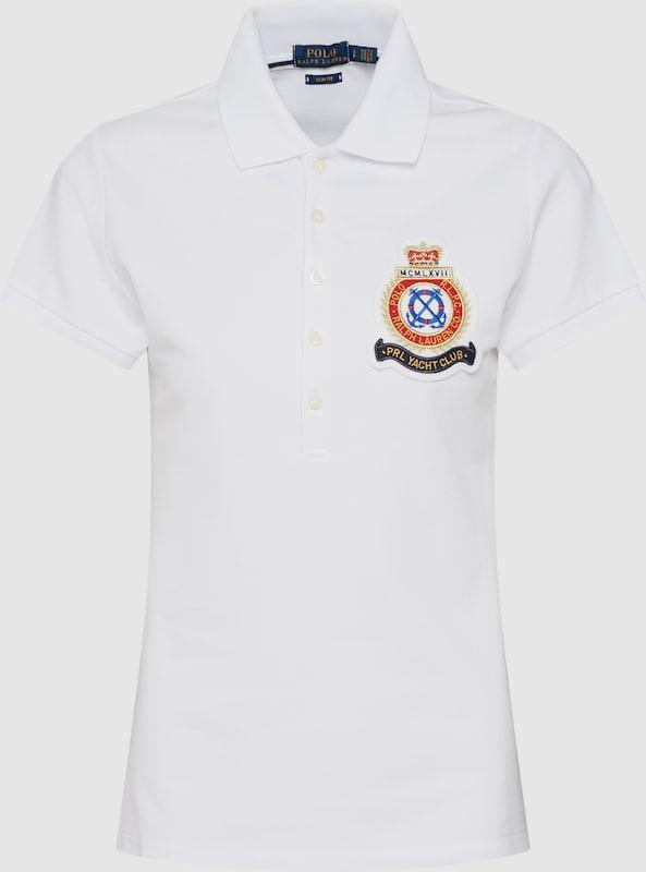 POLO POLO POLO RALPH LAUREN Shirt 'JULIE W CRST' in weiß  Neuer Aktionsrabatt 6768b5