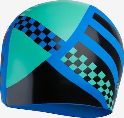 SPEEDO Sportmütze 'Slogan' in blau / mint / schwarz, Produktansicht