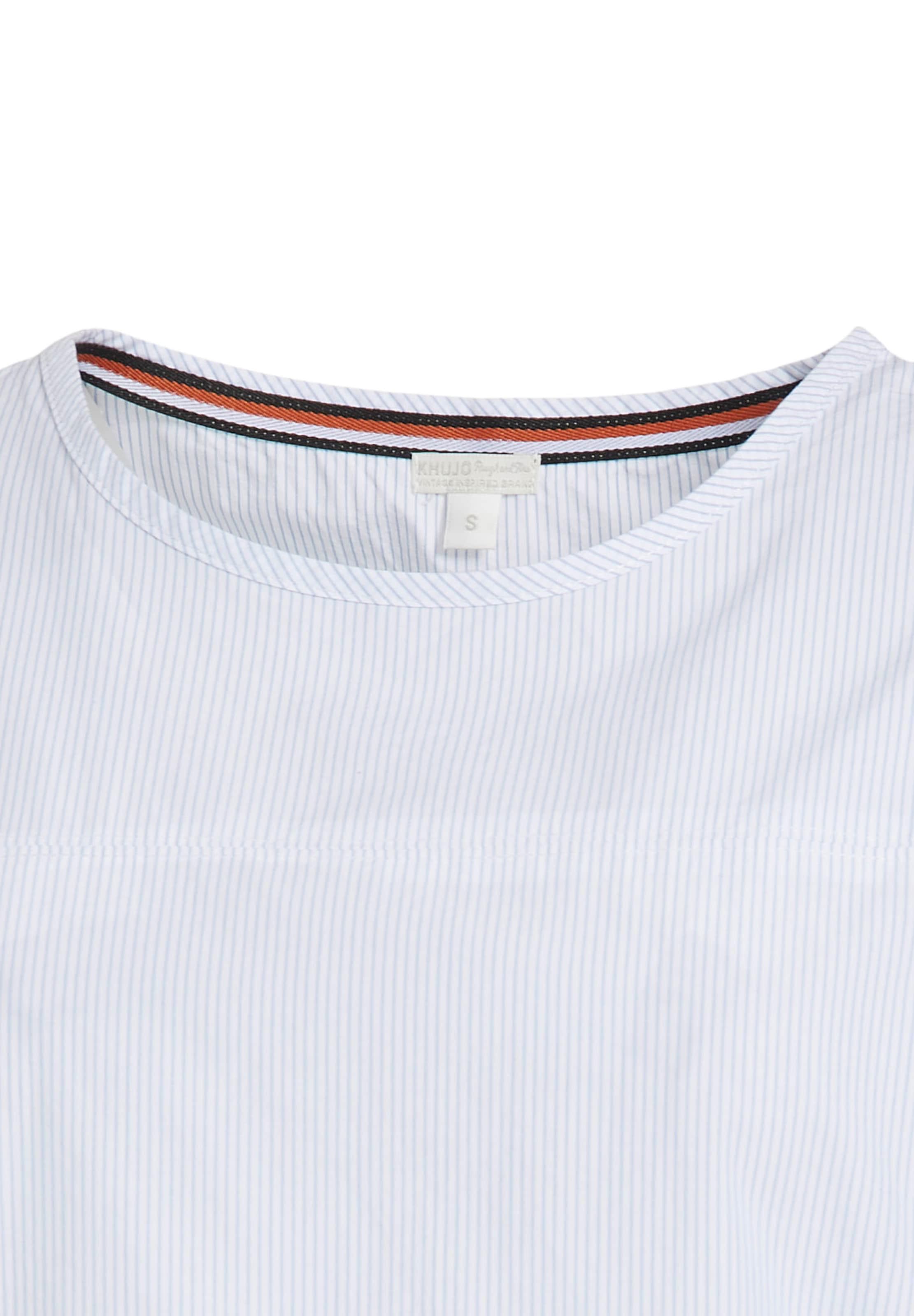 Shirt 'betria' HellblauWeiß HellblauWeiß Khujo Khujo In 'betria' In Shirt Khujo jA43R5L