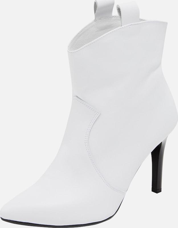 Enkellaarsjes (Wit) voor dames online shoppen   ABOUT YOU