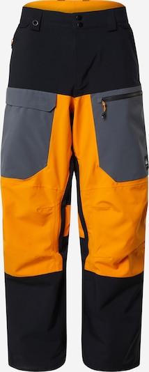 QUIKSILVER Outdoor hlače | rumena / črna barva, Prikaz izdelka