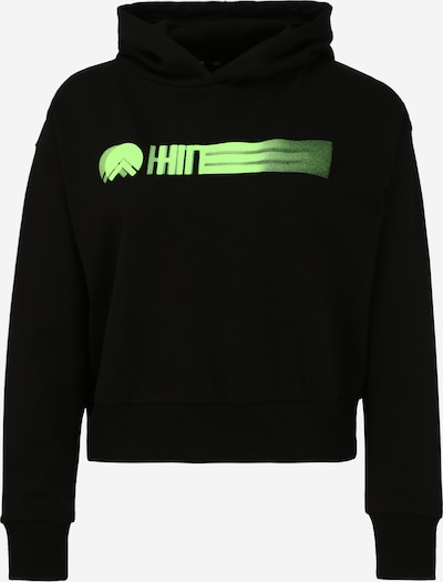 HIIT Sportovní mikina - svítivě zelená / černá, Produkt