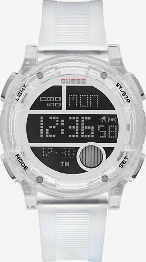 GUESS Digitaluhr »ZIP, GW0226G1« in schwarz / weiß, Produktansicht