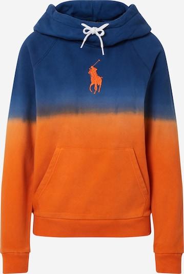 Bluză de molton POLO RALPH LAUREN pe navy / portocaliu, Vizualizare produs