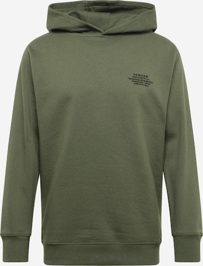 Megztinis be užsegimo iš DENHAM , spalva - rusvai žalia / juoda, Prekių apžvalga