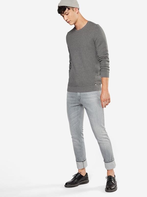 HUGO Pullover in Struktur-Strick 'Stuo'