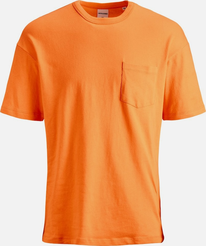 JACK & JONES T-Shirt in orange: Frontalansicht