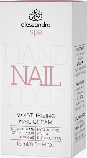 alessandro INTERNATIONAL Nagelpflegecreme in schwarz / weiß, Produktansicht
