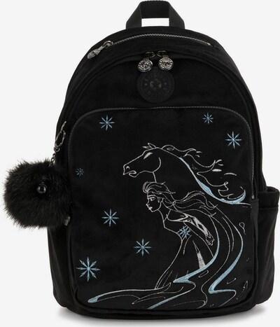 KIPLING Rucksack 'Disney Frozen II, M' in hellblau / schwarz / weiß, Produktansicht