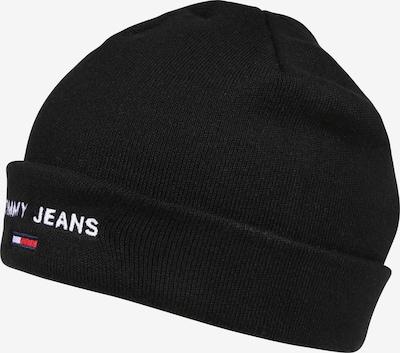 Tommy Jeans Gorra 'TJW SPORT BEANIE' en negro, Vista del producto