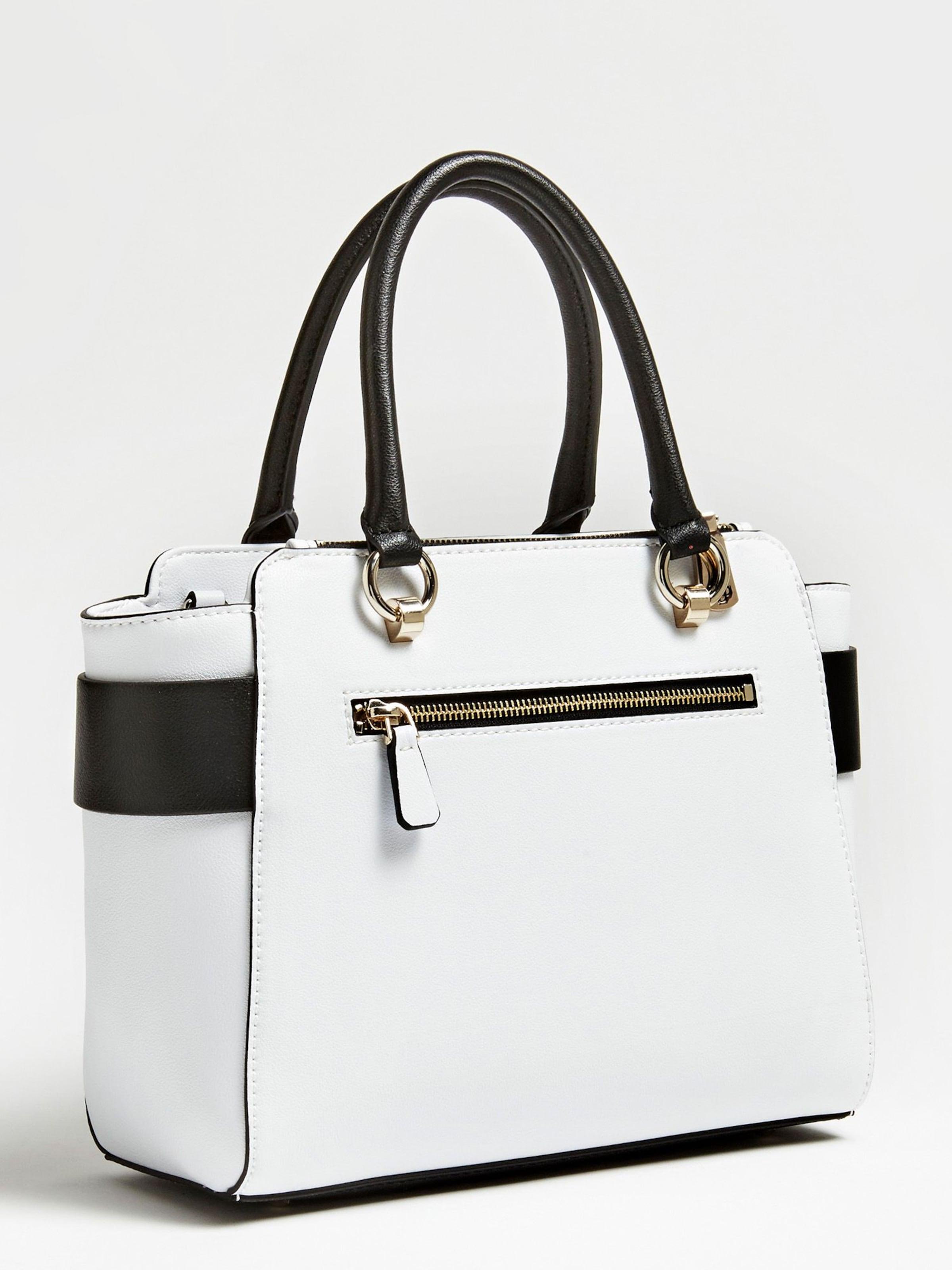 Weiß Guess 'carina' In Schultertasche In Schultertasche 'carina' Weiß Guess nkXOw80P