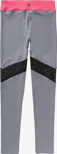Bloch Leggings in grau / rosa / schwarz, Produktansicht