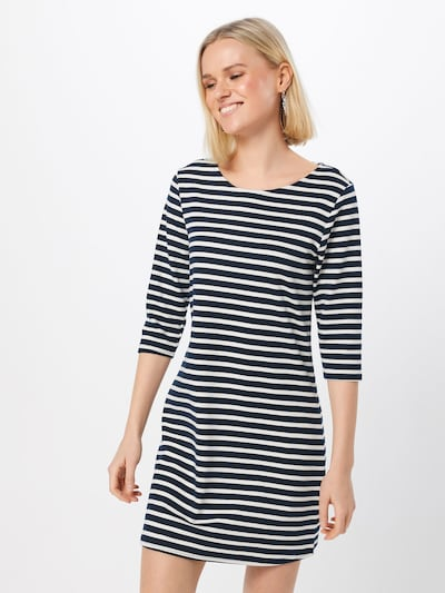 ONLY Kleid in navy / weiß, Modelansicht