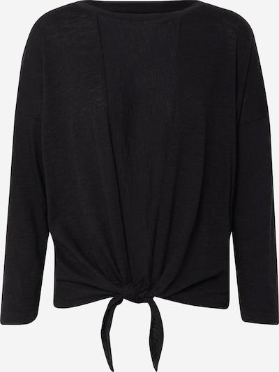 Banana Republic Pullover 'LS COTTON SLUB TIE FRONT' in schwarz, Produktansicht