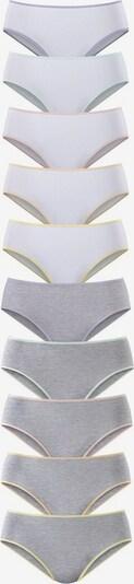GO IN Jazzpants (10 Stck.) in grau / weiß, Produktansicht
