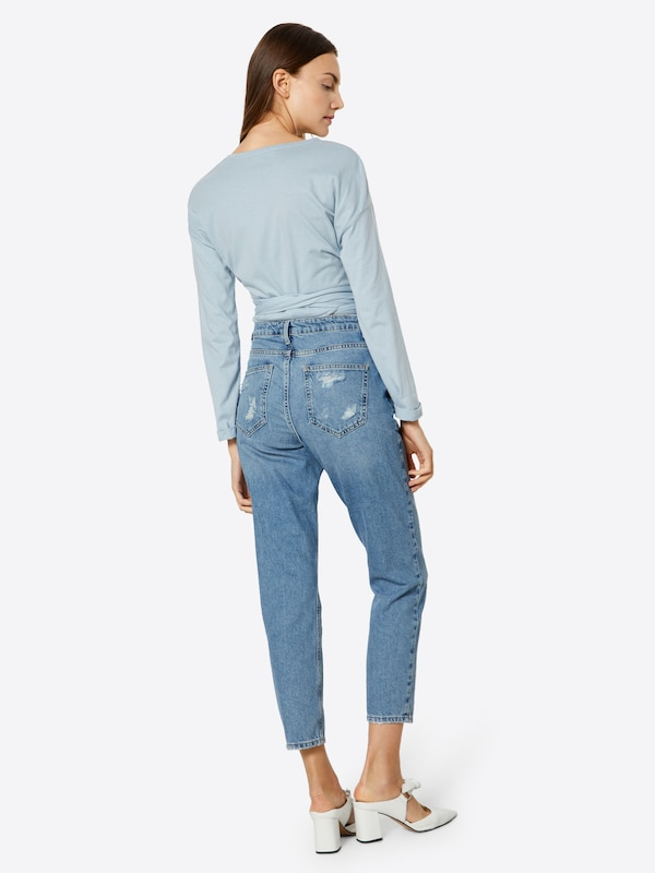 Look Denim Bleu New En Jean mOnv8wN0
