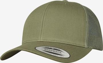 Flexfit Lippalakki värissä vihreä