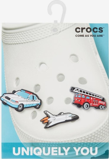 Crocs Schuhanstecker 'Jibbitz™ Rescue' Set in rot / weiß, Produktansicht