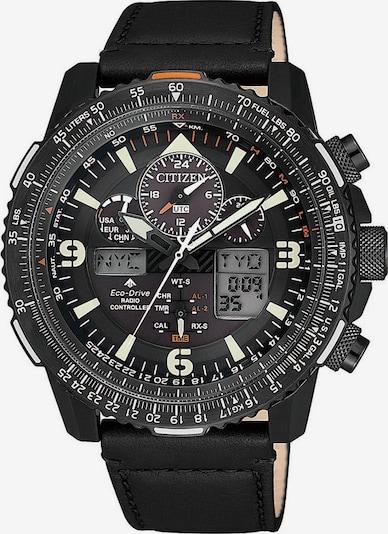 CITIZEN Funkchronograph 'Promaster Eco-Drive Skyhawk' in anthrazit / schwarz, Produktansicht