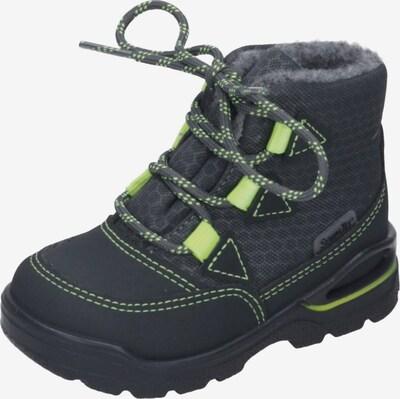 Pepino Stiefel in anthrazit / kiwi, Produktansicht