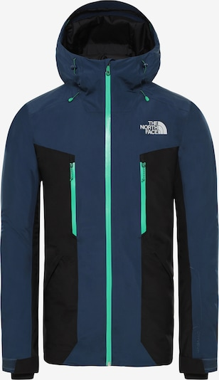 THE NORTH FACE Skijacke 'Mount Bre' in marine / kobaltblau, Produktansicht
