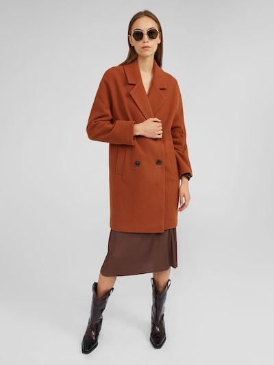 EDITED Manteau mi-saison 'Hanne' en marron: Vue de face