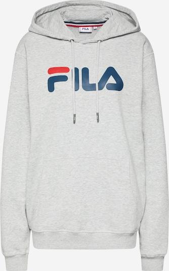 FILA Sweatshirt 'Urban Line Pure' in graumeliert / rot / weiß, Produktansicht