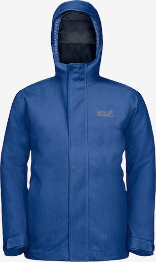 JACK WOLFSKIN Winterjacke 'Drei Berge' in blau, Produktansicht