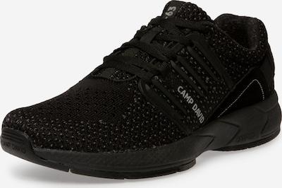 CAMP DAVID Sneaker in schwarz, Produktansicht