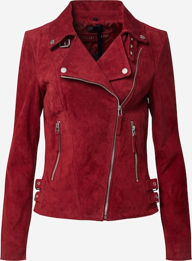FREAKY NATION Jacke 'Taxi Driver' in rot, Produktansicht