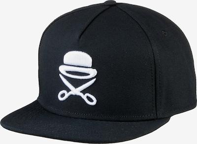 Cayler & Sons Cap in schwarz / weiß: Frontalansicht