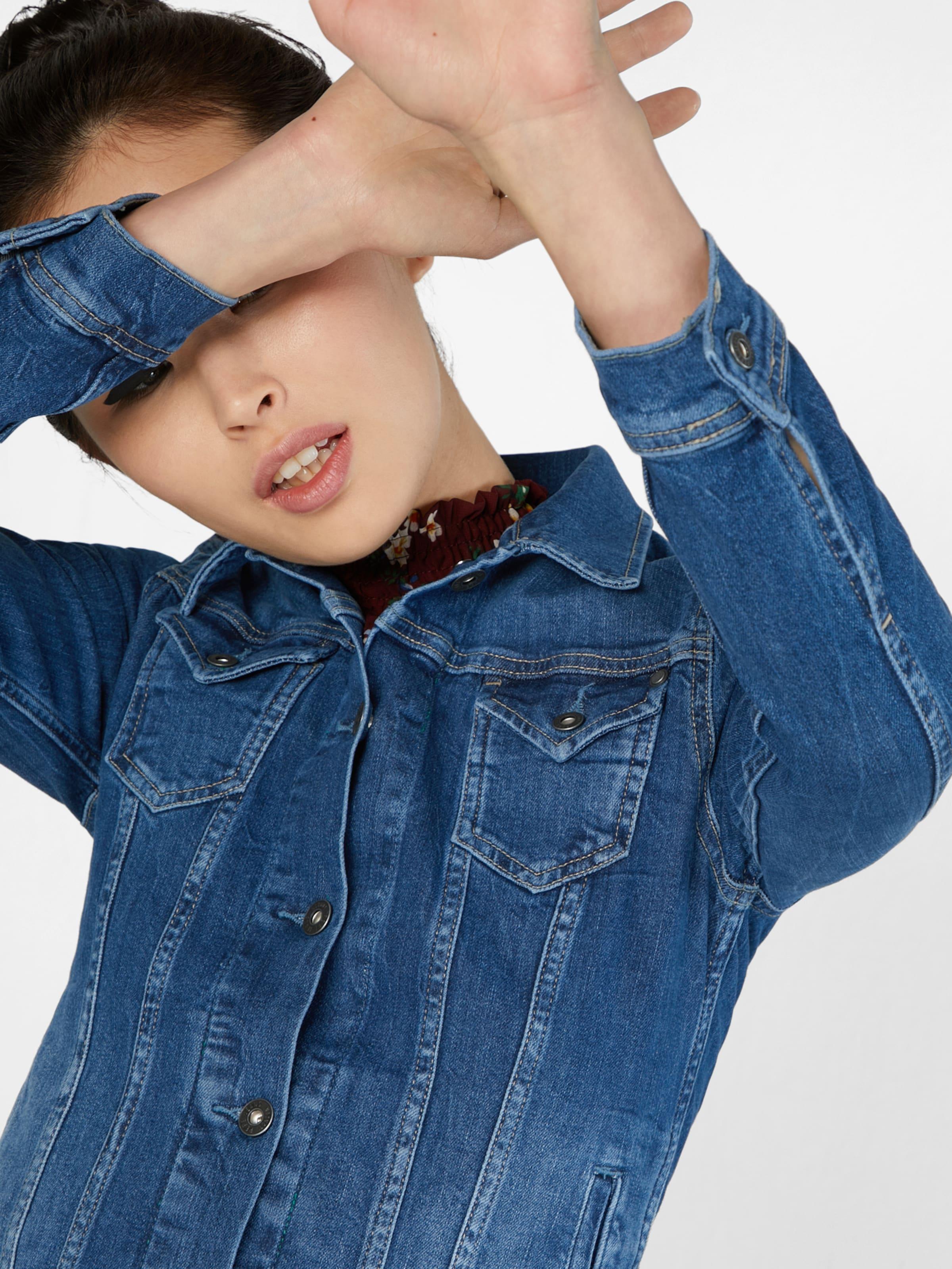 Rabatt Beliebt Pepe Jeans Denimjacke im Vintage Look 'Thrift' Spielraum Amazon Tx2DB4rI