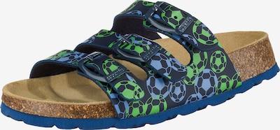 SUPERFIT Schuhe in blau / rauchblau / grün, Produktansicht