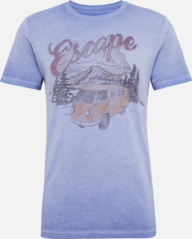 Jones shirt T En Jackamp; Bleu 'jorescape' SVGqzjLUMp