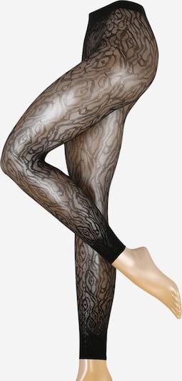 FALKE Collants 'Zebra LE' en noir, Vue avec produit