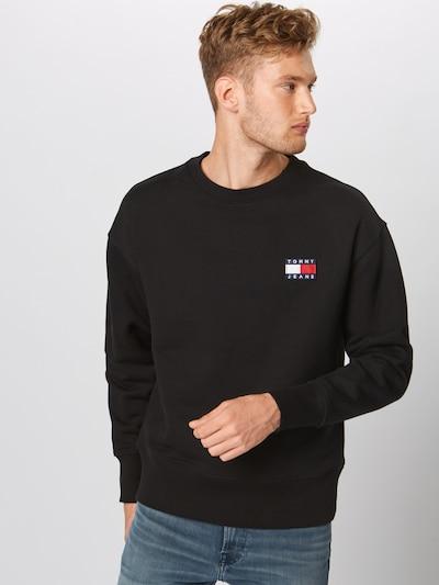 Tommy Jeans Bluzka sportowa w kolorze czarnym, Podgląd na modelu(-ce)