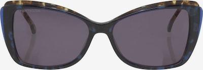 TOM TAILOR Sonnenbrille in gelb / schwarzmeliert, Produktansicht