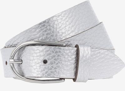 VANZETTI Gürtel 'Metallic 3cm' in silber, Produktansicht